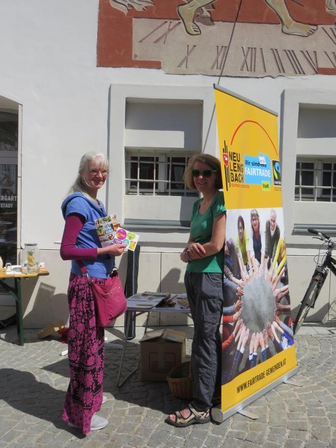 Christa Mayer und STR Barbara Löffler